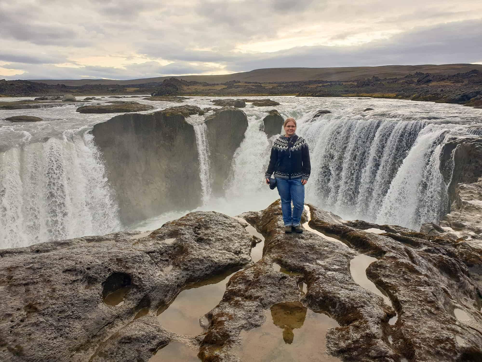 Lisa Bareways Iceland trip